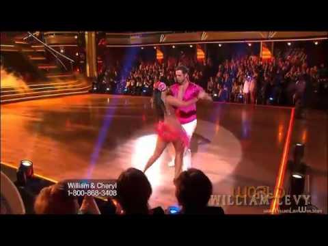 William Levy @willylevy29 & Cheryl bailan SAMBA en DWTS semana9  abc