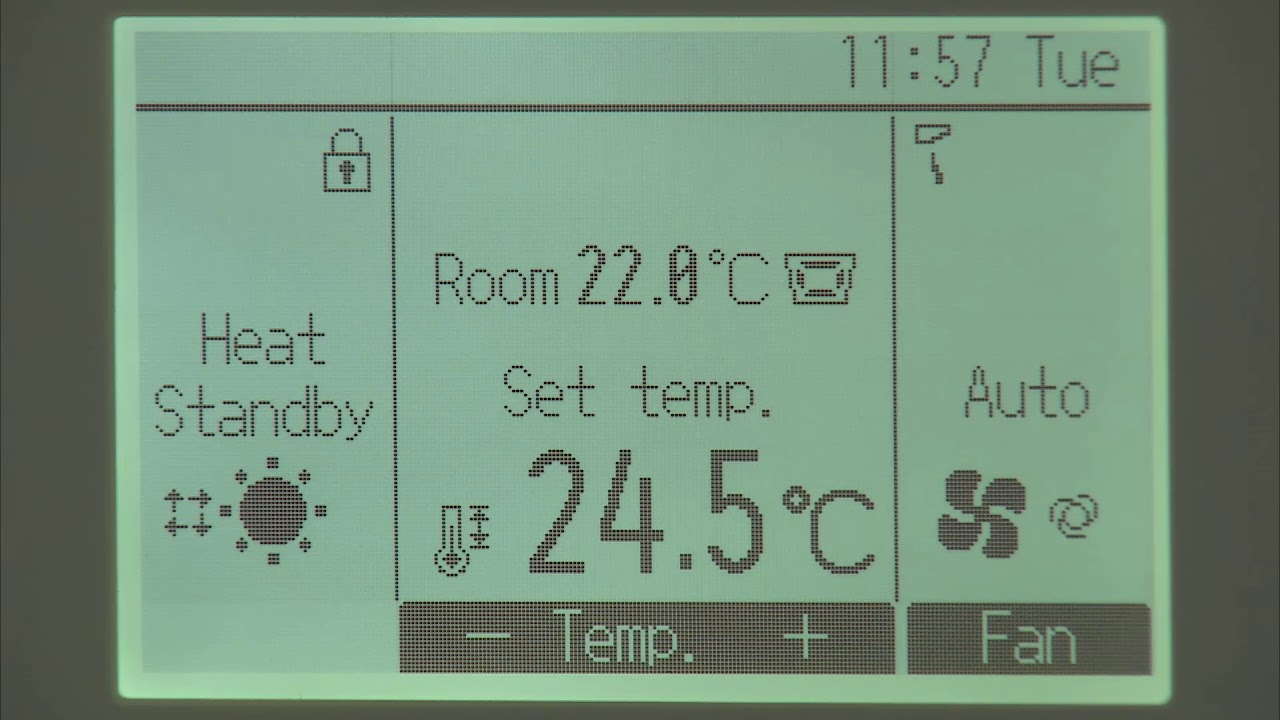 Par 33maa Operation Lock Youtube Indoor Heat Pump Wiring Diagram