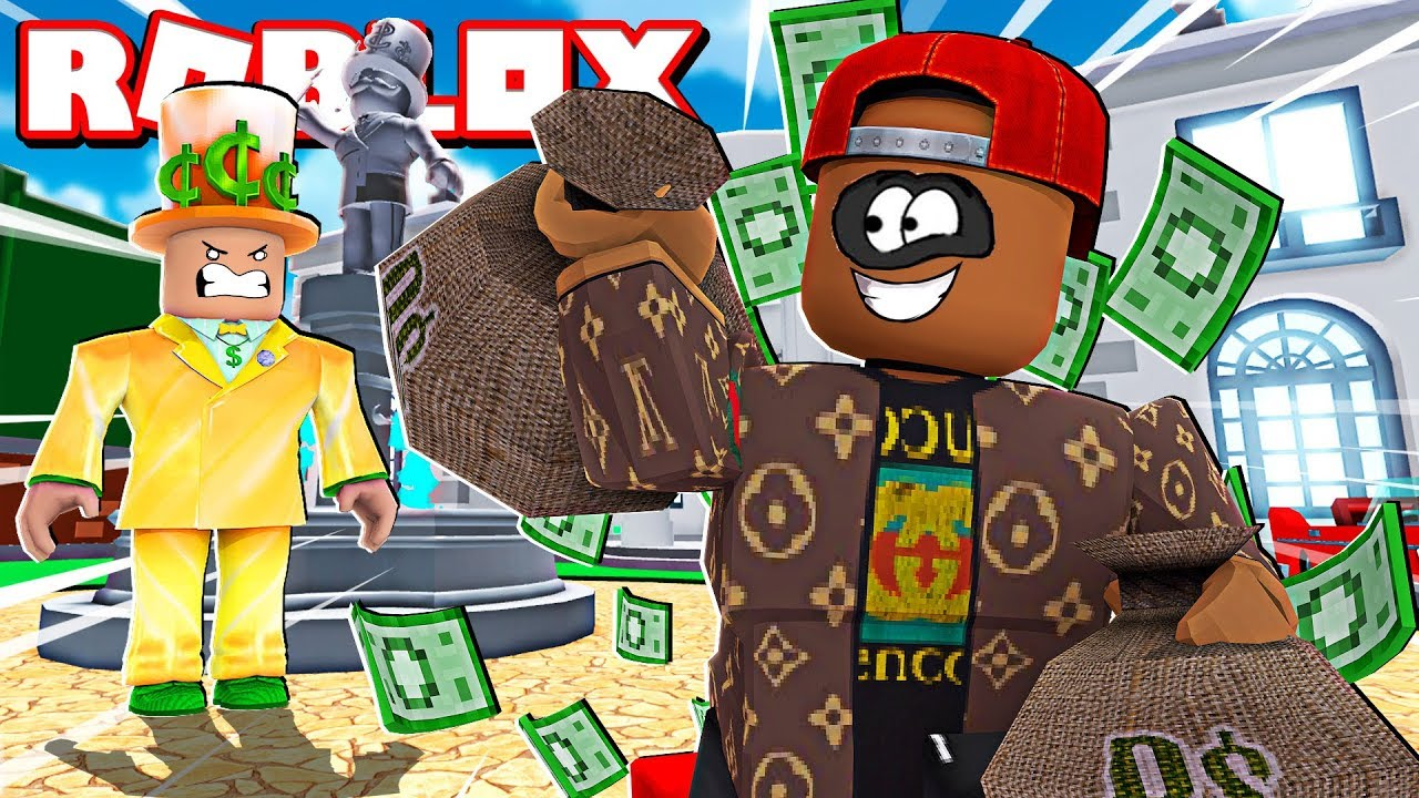 Rob The 10 000 000 Mansion Obby In Roblox Youtube