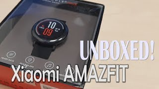 Xiaomi AMAZFIT Heart Rate Smartwatch UNBOXED! (4K)