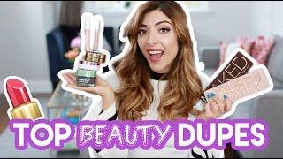 10 DRUGSTORE DUPES for high end beauty + makeup! | Amelia Liana