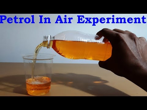 How Petrol Fly In Air Science Experiments