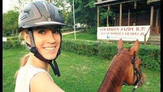VLOG ZE STAJNI ♥ Jazda na krosie / dzierżawię konia / Szwadron Jazdy RP