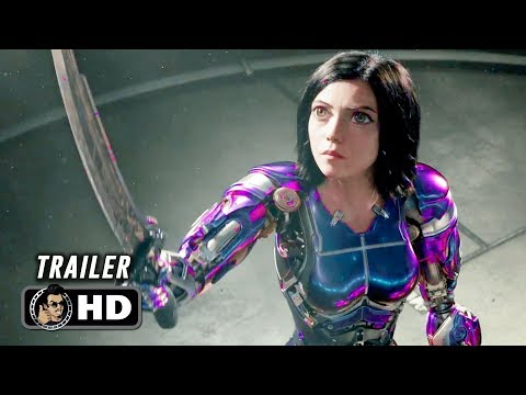 ALITA: BATTLE ANGEL Trailer #3 (2019) James Cameron Sci-Fi Action Movie