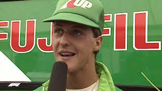 Michael Schumacher's F1 Debut | 1991 Belgian Grand Prix