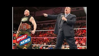 WWE RAW: Brock Lesnar set for HUGE return before SummerSlam championship match