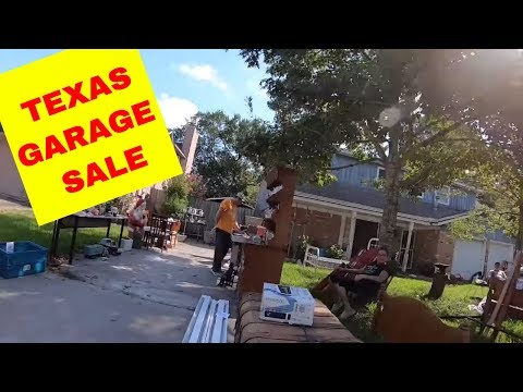 TEXAS GARAGE SALE- CAN I SELL THIS ON EBAY?