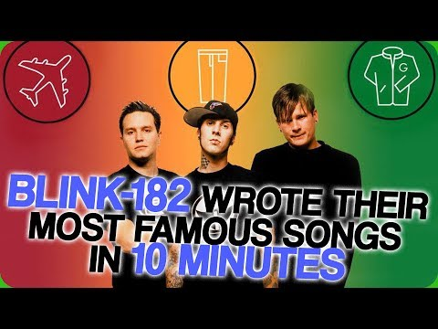 blink-182 Wrote Their Most Famous Songs in 10 Minutes (Insert Advert)