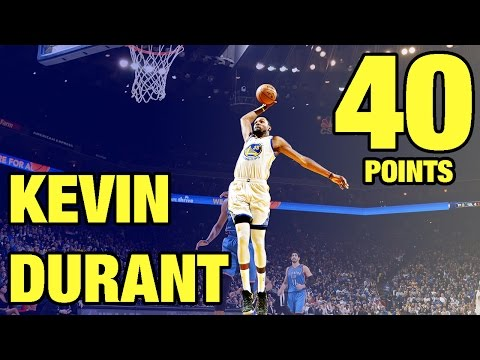 Kevin Durant 40 Points vs Oklahoma City Thunder | 01.18.17
