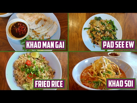 4 One Plate Thai Dishes You'll Love (Feat. Chicken)