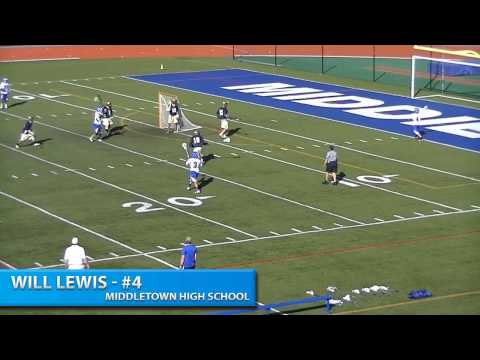 Will Lewis Lacrosse highlight Video