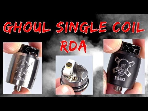 The Ghoul RDA! Uses A Ceramic Connection Block!