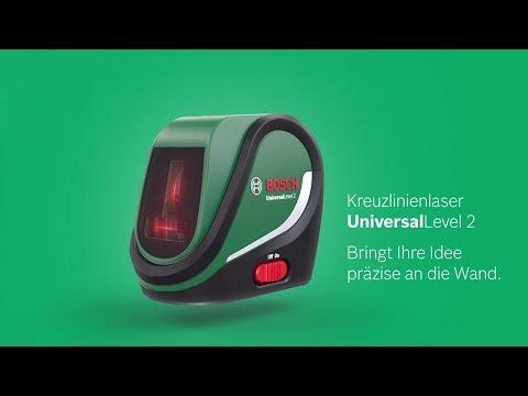 Видео обзор: Нивелир лазерный BOSCH UniversalLevel 2
