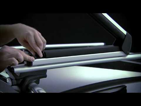 thule wing bar youtube. Black Bedroom Furniture Sets. Home Design Ideas