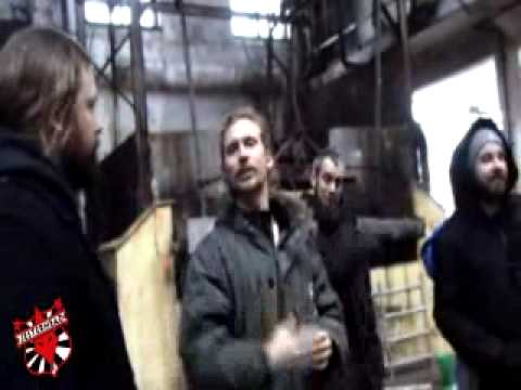 In Flames behind the scenes of The Mirrors Truth Video
