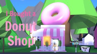 I BOUGHT A DONUT SHOP!!! (Roblox adopt me) | Its SugarCoffee