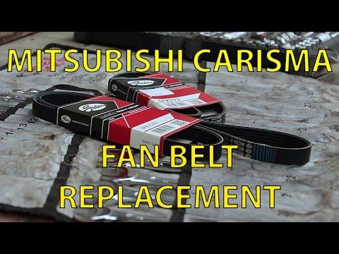 Mitsubishi Carisma Fan Belt Replacement