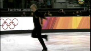 Evgeni Plushenko Tosca Sp Olympics Torino 2006(Since the amazing Eurosport broadcast is constantly disabled from youtube, this is the Nbc Version of Tosca, Sp of Evgeni Plushenko, Gold Medalist in Torino!, 2009-04-23T22:05:46.000Z)