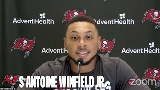 Antoine Winfield Jr. on Starting Role & Facing Drew Brees   Press Conference