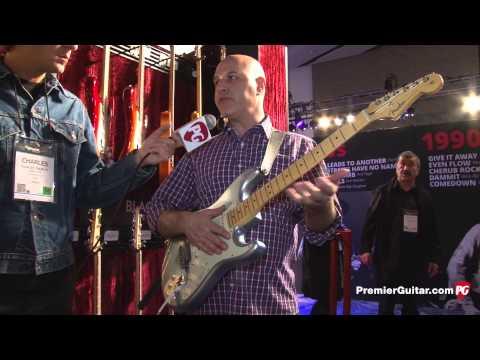 NAMM '14 - Fender American Deluxe Strat Plus & 60th Anniversary American Vintage 1954 Strat Demos