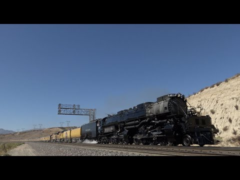 "4K: Rare 4014 ""Big Boy"" (Cajon to Barstow)"