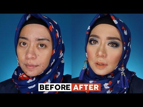 blue-smokey-eyes-tutorial-|-tutorial-makeup-bold-dan-tajam