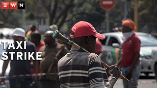 Thousands of taxi drivers and owners marched through the Pretoria CBD on 18 November 2020. The operators demanded that Minister of Transport Fikile Mbalula pay them the COVID-19 relief funds they were promised. A memorandum of demands was handed over at the Union Buildings.  #TaxiStrike