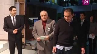 لقطات من زيارة الأمير علي بن الحسين لقناة رؤيا