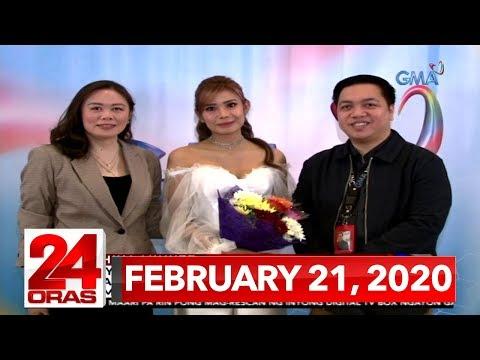 24 Oras Express: February 21, 2020 [HD]