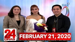 24 Oras Express: February 21, 2020 [HD]