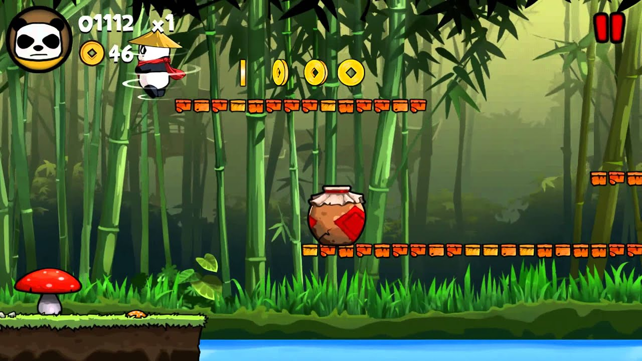 Panda Run Gameplay
