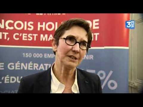 """Hollande en tête: """"une soif de changement"""" selon Valérie Fourneyron"""