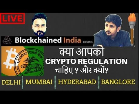 ALL INDIA TOUR - INDIA NEED CRYPTO REGULATION - WITH BLOCKCHAINED INDIA 003d05848