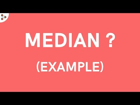 Why do we need the Median? - Example