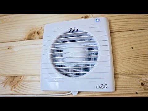Вентиляция в стене частного дома / для туалета от запахов /