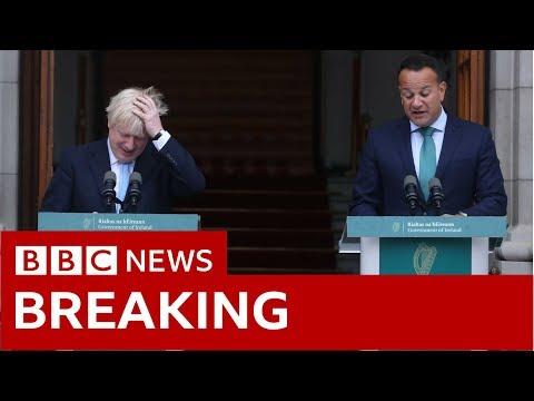 Johnson tells Varadkar no-deal Brexit 'would be a failure'  - BBC News
