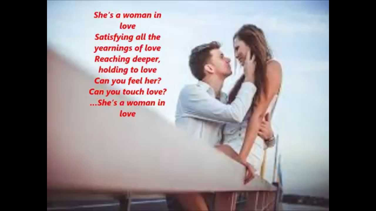 Shes A Woman In Love By Highgees Project Youtube