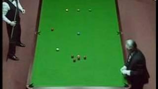 147 break by Jimmy White vs. Tony Drago - 1992 crucible