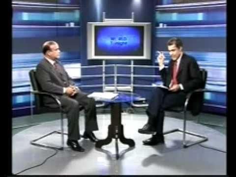 TARIQUE KHAN JAVED EXPLAINING OPIF AGENDA AT METRO ,BUSINESS PLUS AND INDUS TV