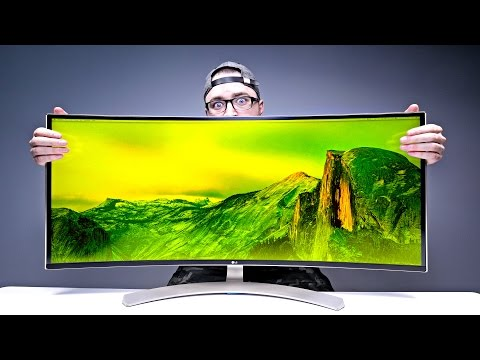 Massive 38-inch Monitor = Mind Blown!