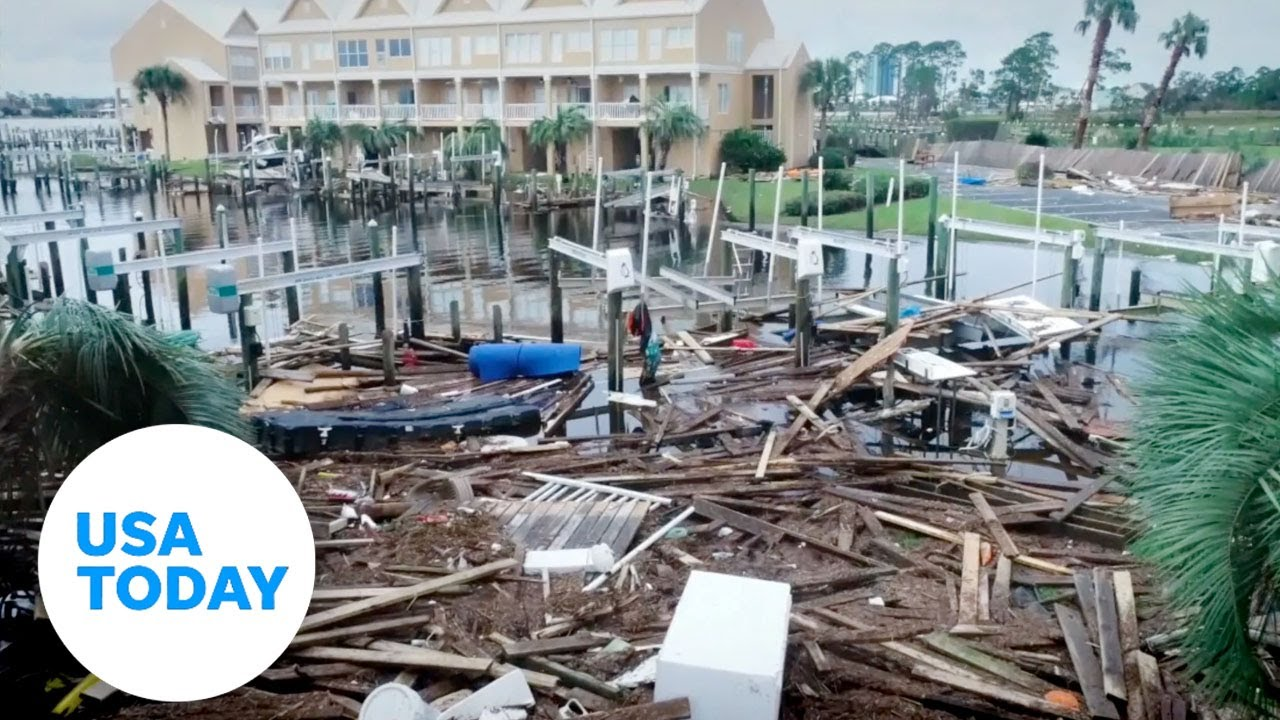 Aerials show Hurricane Sally how pummeled Orange Beach, Alabama and Florida panhandle | USA TODAY