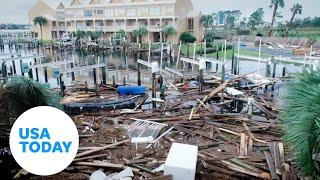 Aerials show Hurricane Sally how pummeled Orange Beach, Alabama and Florida panhandle   USA TODAY