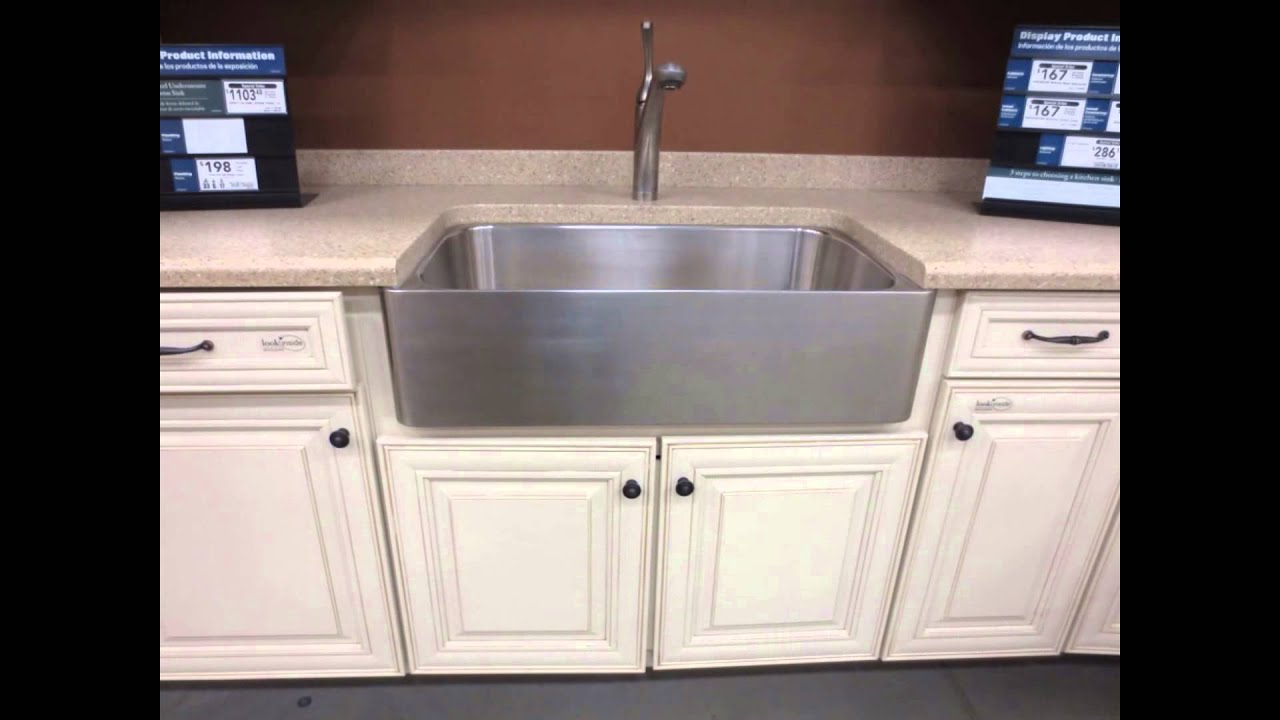 The Best Stainless Steel Kitchen Sink 2015 - YouTube