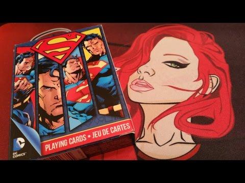 DC Comics Superman playing cards (deck review)