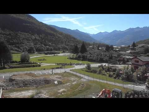 Annual Walking of the Cows to high pasture Valtellina, Italian Alps 2012