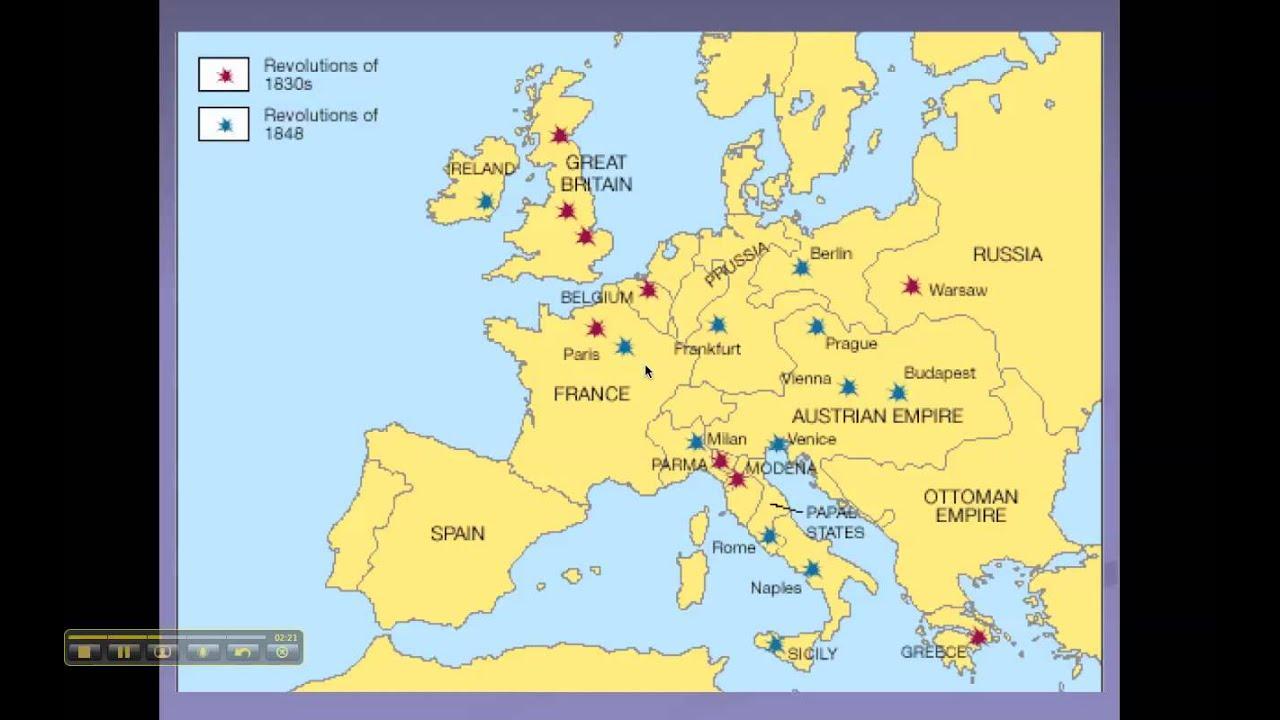 The European Revolutions of 1848