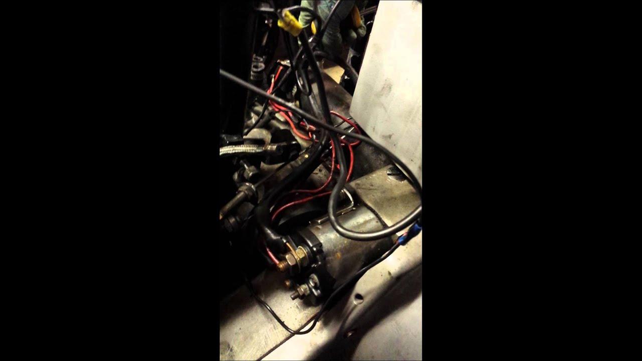 shovelhead starter motor issue youtube rh youtube com Starter Switch Diagram How Does a Starter Relay Work