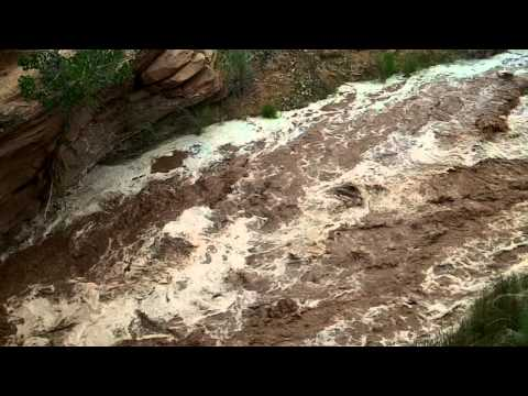 Flash Flood in Capitol Reef National Park