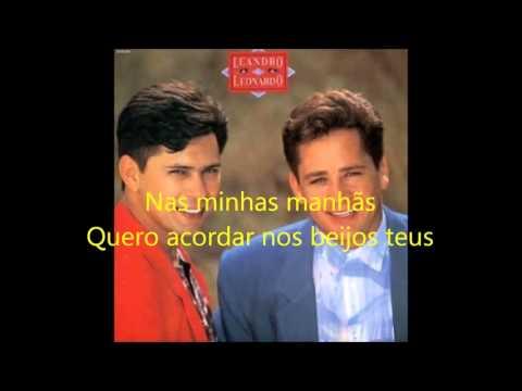 LEANDRO & LEONARDO - Quero ser Seu Dono 1993 (Letra)