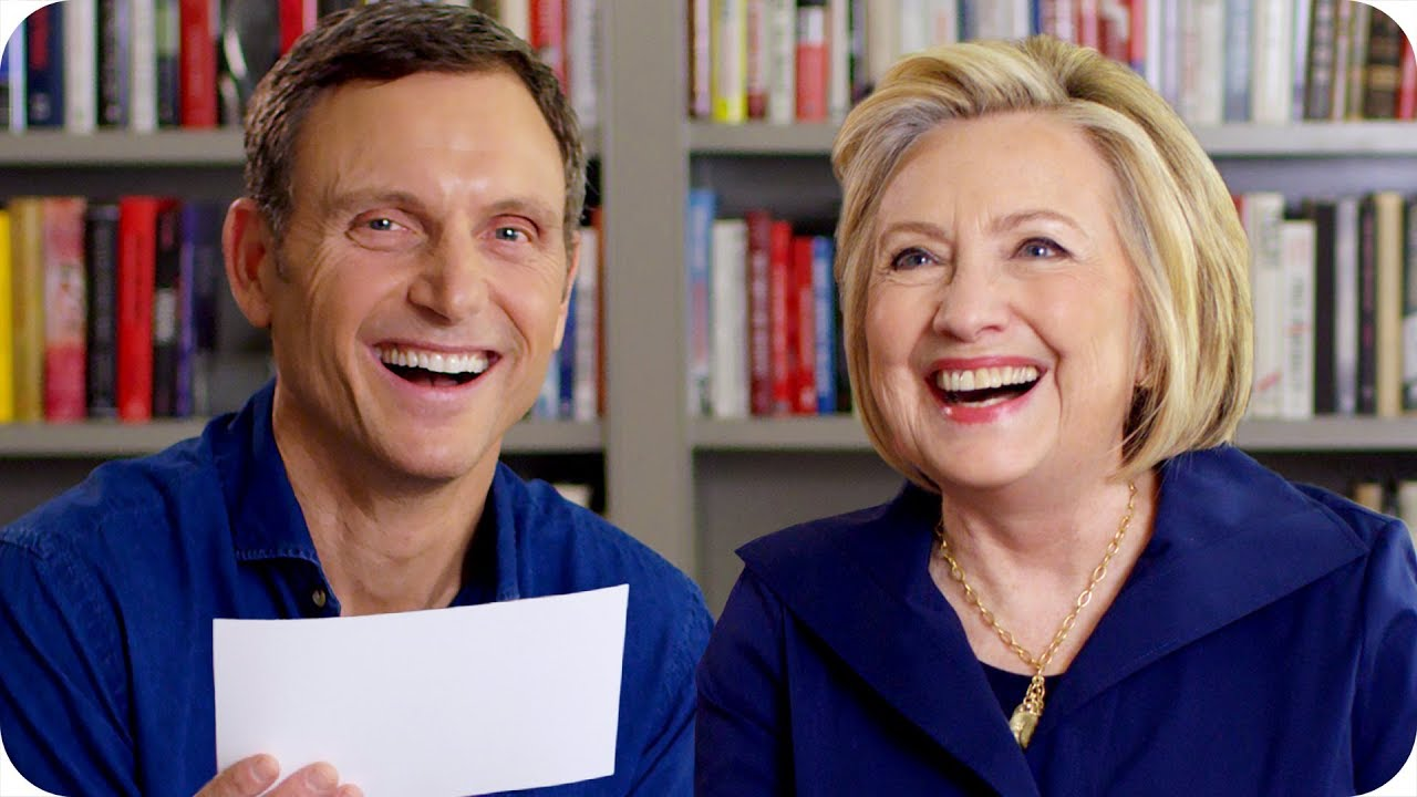 Hillary Clinton and Tony Goldwyn Play Broadway or Beltway